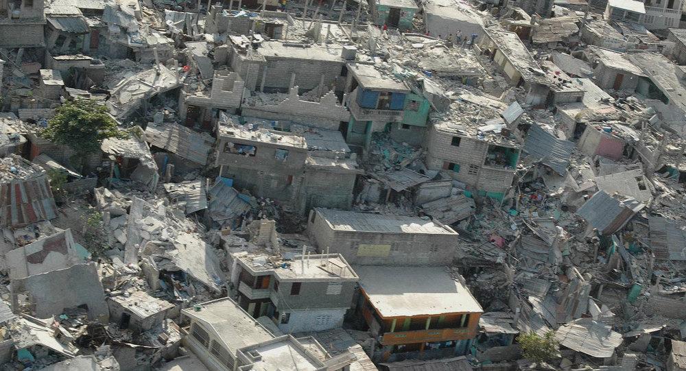 Collapsed buildings following earthquake, in Haiti's capital Port-au-Prince. (File)