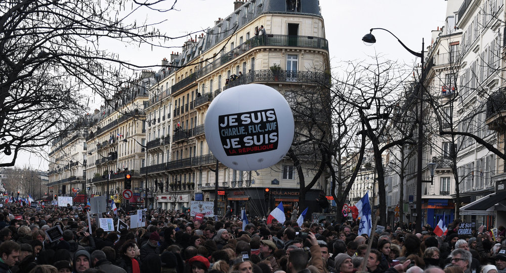Unity March in Paris