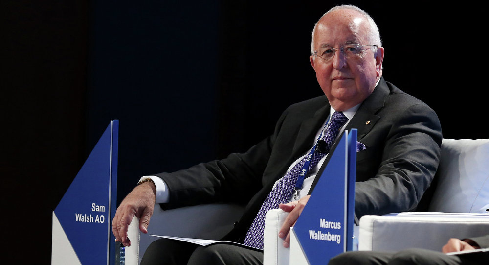 Rio Tinto plans to start exporting uranium from Australia to India within the next two years, company CEO Sam Walsh said