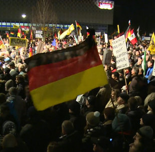 Tens of Thousands of People Attend Anti-Islam Rallies in German Cities