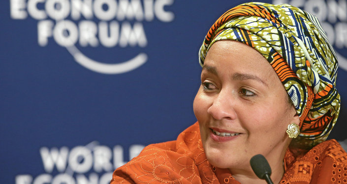 UN Secretary-General Ban Ki-moon's special adviser on post-2015 development, Amina J. Mohammed