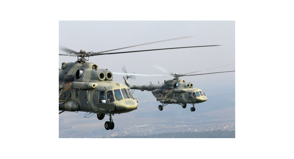 Russia's MI-17 helicopters