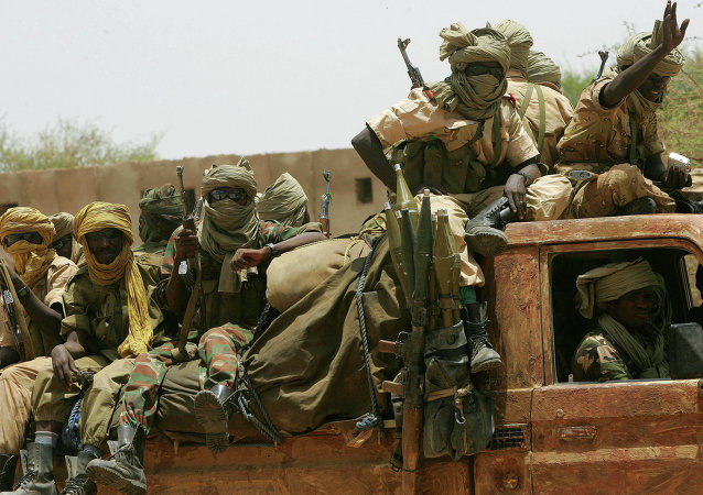 Chadian army soldiers