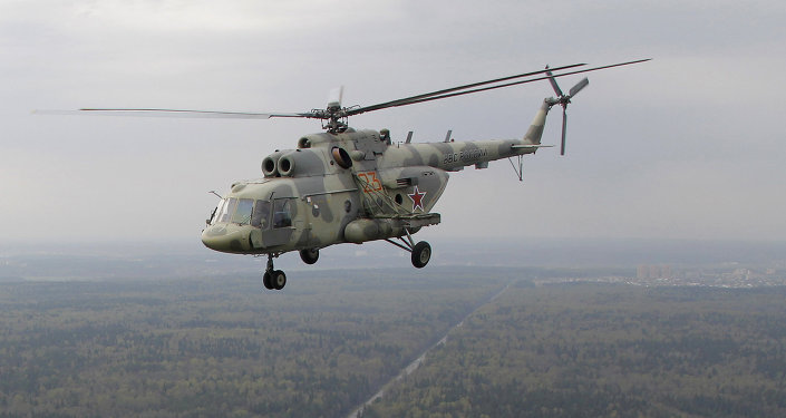 Mi-17 helicopter. File.