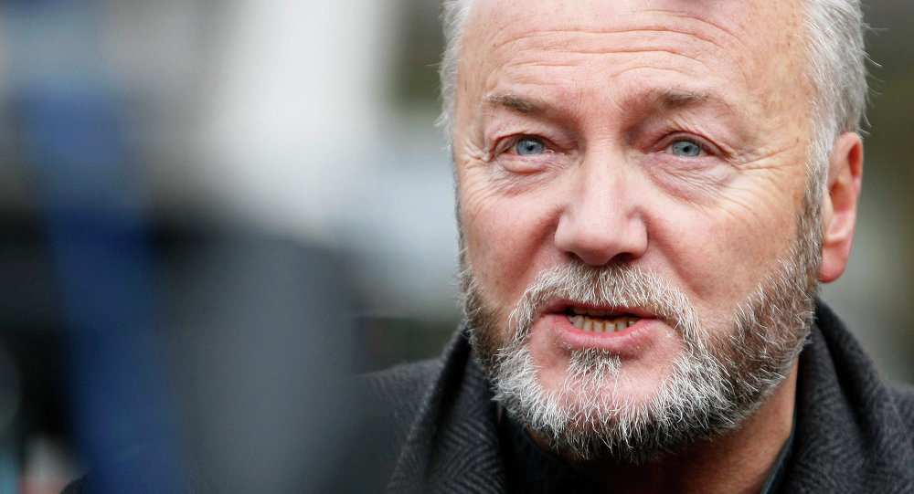 British Member of Parliament George Galloway
