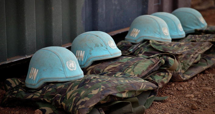 Daily life at the under construction camp of the UN Peacekeepers in Gao, Mali