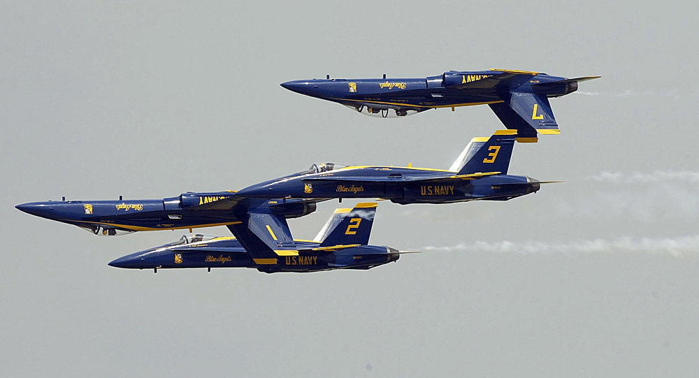 Blue Angels crash blamed on pilot error