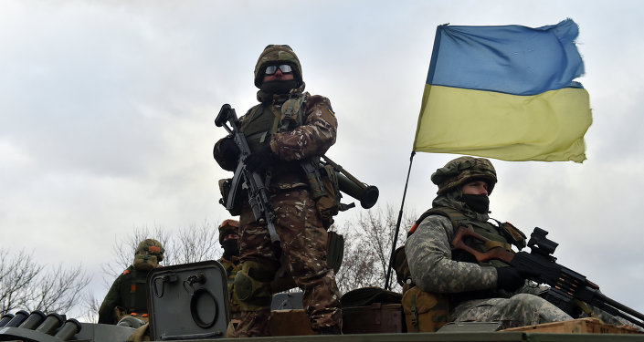 The training of the Ukrainian National Guard by the US Army Europe soldiers will start in spring following Kiev's request
