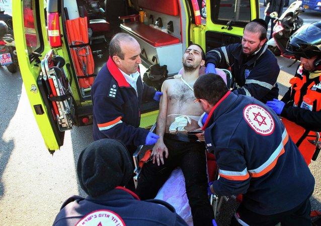 Tel Aviv ambulance