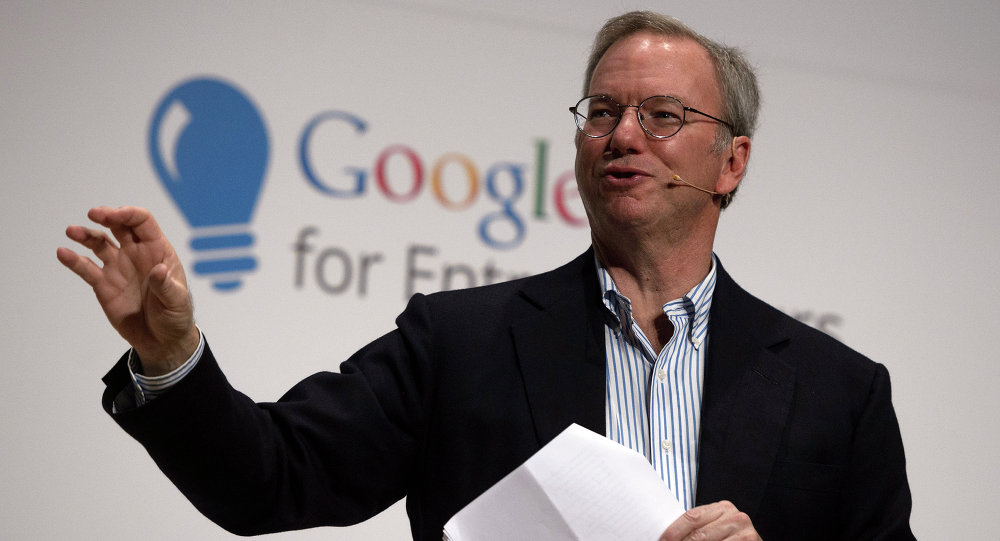 Google Executive Chairman Eric Schmidt