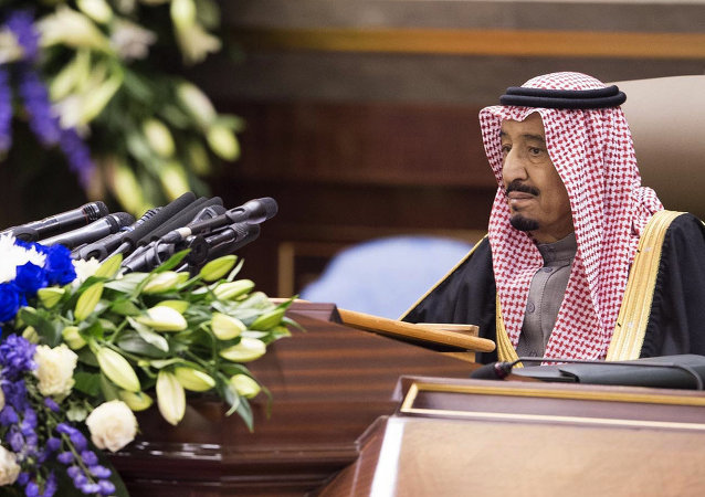 In this image released by the Saudi Press Agency, Crown Prince Salman speaks during a session at the Shura Council in Riyadh, Saudi Arabia in an annual televised speech on Tuesday, Jan. 6, 2015