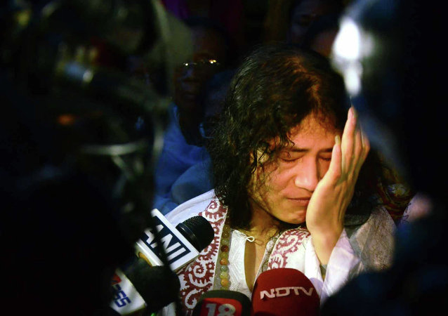 Indian rights activist Irom Sharmila