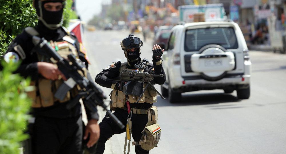 Members of Iraq's anti-terrorism force