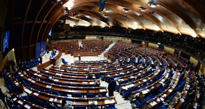 Plenary meeting of the winter session of the Parliamentary Assembly Council of Europe