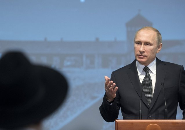 President Vladimir Putin attends International Holocaust Remembrance Day events