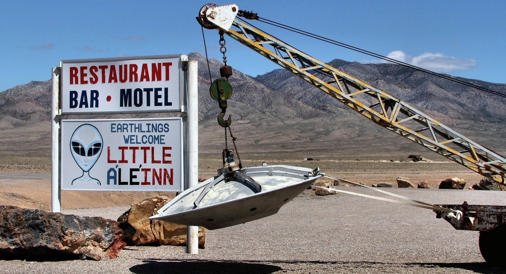 The Little A'Le'Inn in Rachel, Nevada, appeals to those interested in the area's history with UFO sightings.