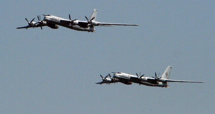 TU 95MS long-range jets of the Russian Air Force