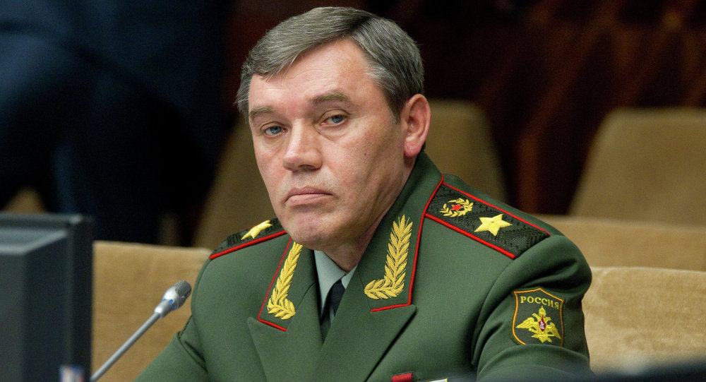 Russian Armed Forces Chief of Staff Valery Gerasimov
