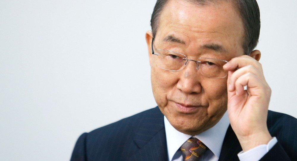 UN Secretary-General Ban Ki-moon said Yemen is collapsing and legitimate government needs to be established as soon as possible to avoid a complete chaos in the country.