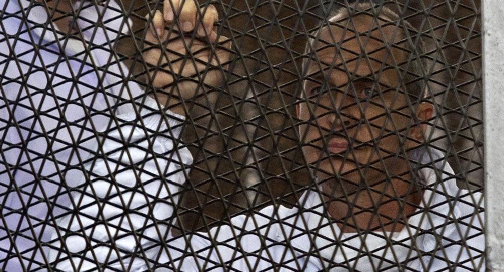 Australian journalist Peter Greste of Al-Jazeera