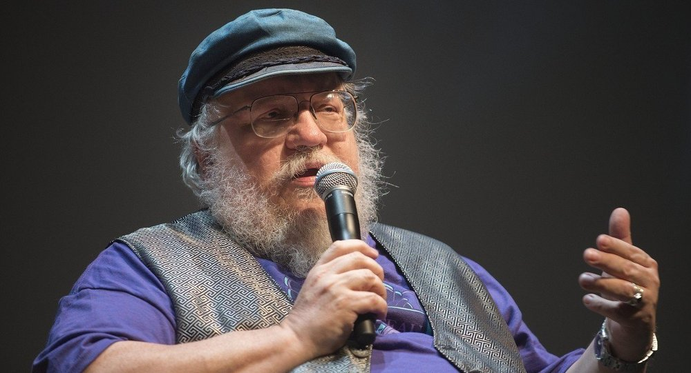 George R. R. Martin, creator of the drama series Game of Thrones