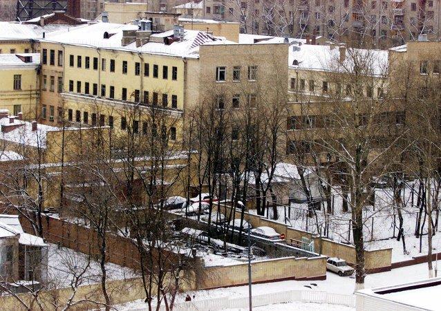 A general view of the Lefortovo Prison (File photo).