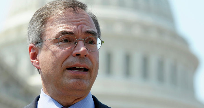 Rep. Andy Harris, R-Md is a major part of the Republican opposition to the legalization of pot in DC