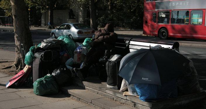 Homeless, London