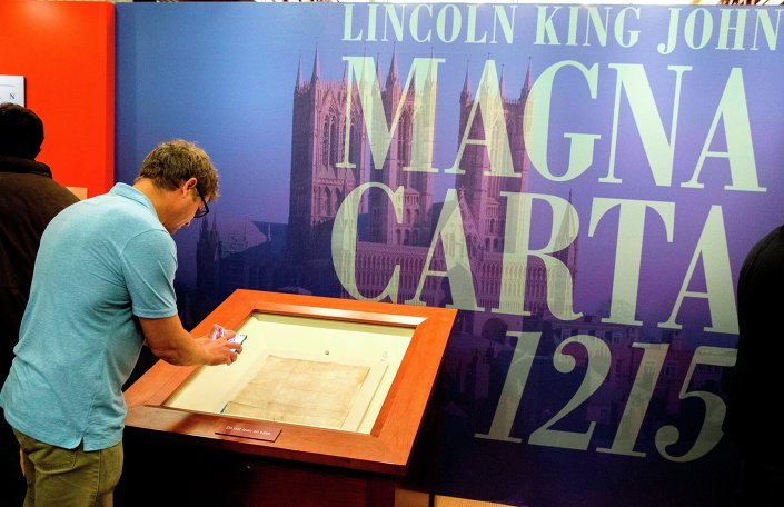 Magna Carta: Muse and Mentor exhibition