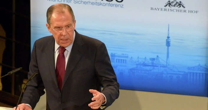 RF Foreign Minister Sergei Lavrov takes part in 50th Munich conference on security policy