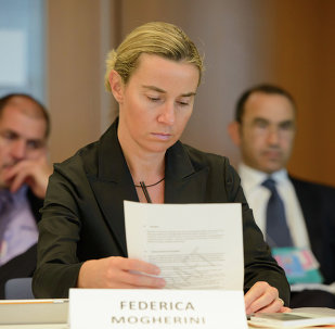 EU foreign policy chief Federica Mogherini on Saturday called for finalization of an agreement over Iranian nuclear program