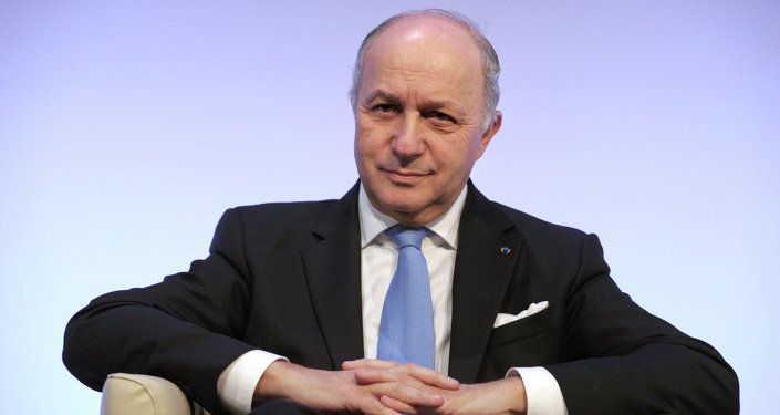 French Foriegn Minister Laurent Fabius