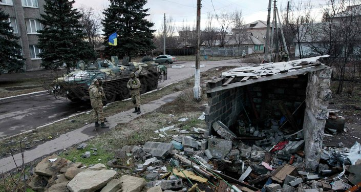 According to media reports, Ukrainian forces violated the ceasefire no less than five times. Three local residents were reportedly killed as a car was blown up near the small town south of Donetsk.