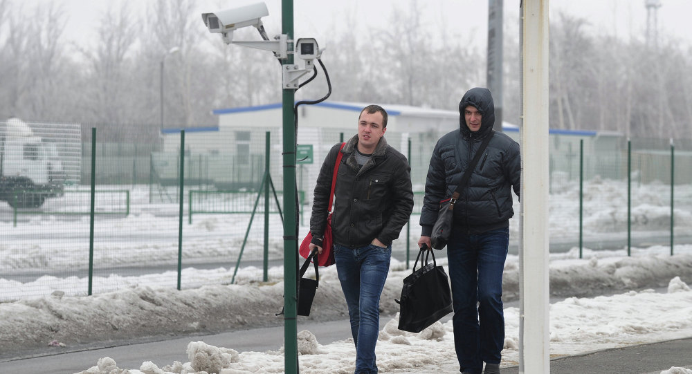 Matveyev-Kurgan checkpoint in Rostov Region