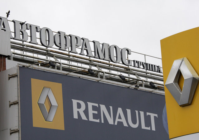 The Renault car manufacturing plant in Moscow will suspend production in February for two to three weeks