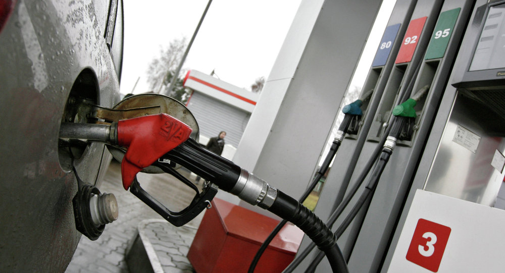 Pro-Kremlin youth pickets oil firms demanding lower fuel prices
