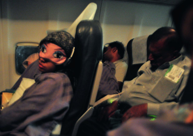 Anyone who's ever flown Beijing to Newark knows that falling asleep mid-flight is nearly impossible.