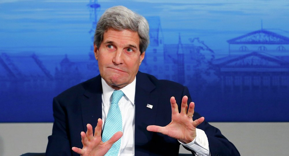 U.S. Secretary of State John Kerry told the media on Tuesday that Russian and Chinese hackers likely read his e-mails.