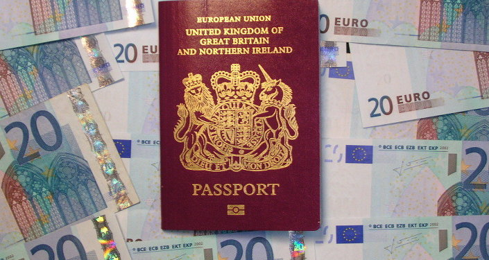 UK biometric passport