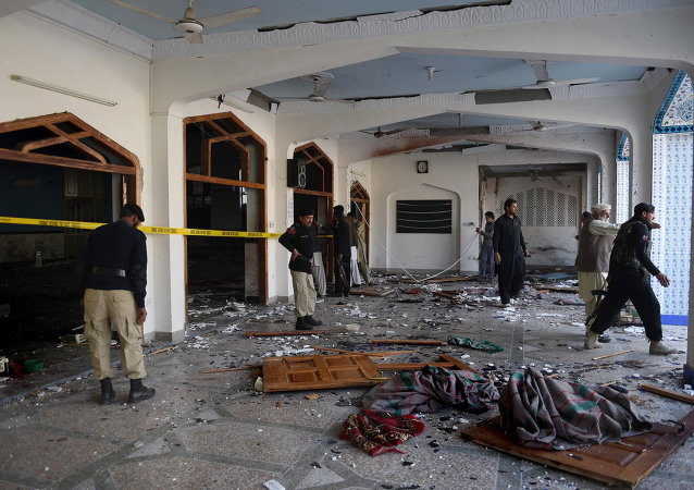 Explosion at a Muslim mosque