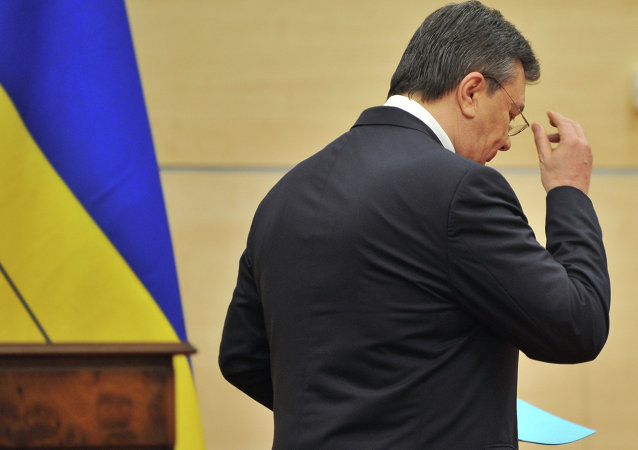 Ukrainian President Petro Poroshenko appealed to the country's constitutional court, asking the court to recognize the ousting of former President Viktor Yanukovych in February 2014 as illegitimate.