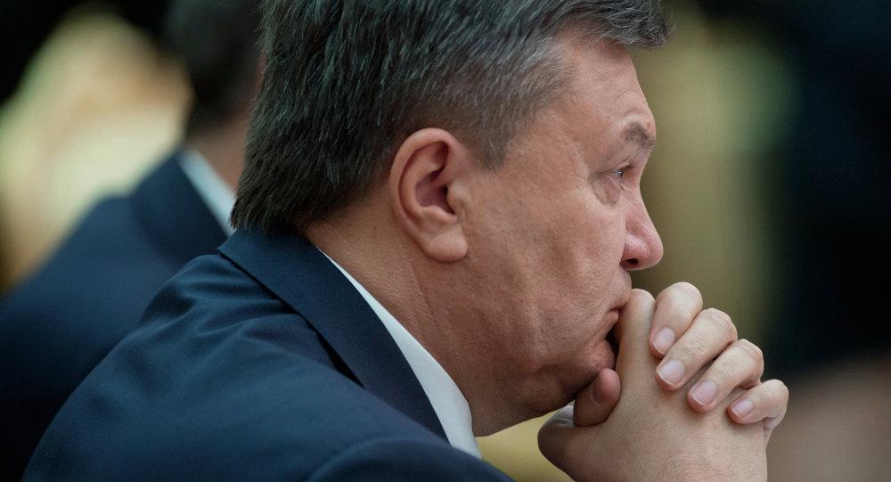 Ukrainian ex-president Viktor Yanukovych