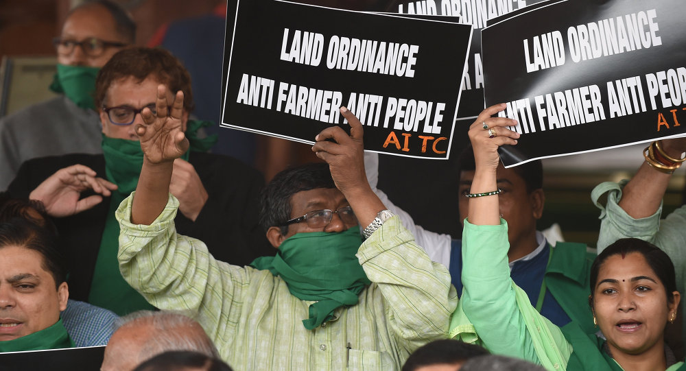 Indian Government Plans Land Grab in Controversial New Bill