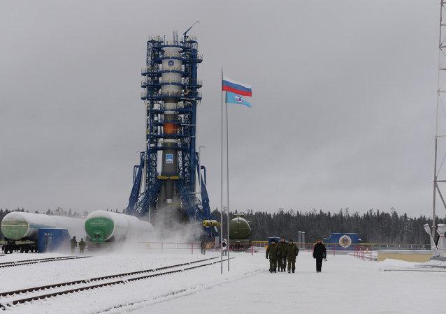 Plesetsk cosmodrome in Arkhangelsk Region