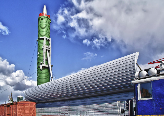 The ICBM RT-23, nicknamed the 'Good Sport' (Molodets)