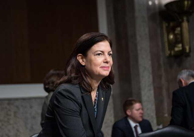 US Republican Senator from New Hamphire Kelly Ayotte