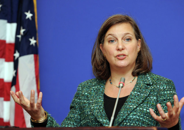 A number of the things that the Ukrainians have requested are not readily available unless the US were to license onward export, Nuland said.