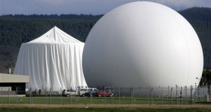 The Government Communications Security Bureau's intelligence base in New Zealand's Waihopai Valley