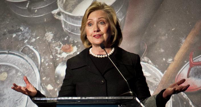 Hillary Rodham Clinton, former US Secretary of State