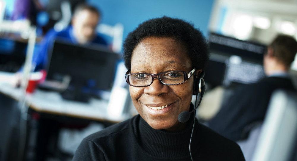 A telemarketer
